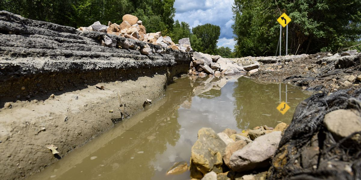More damage to Highway 93 revealed after water recedes