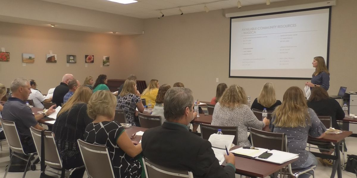 Waseca Chamber learns about mental health in workplace