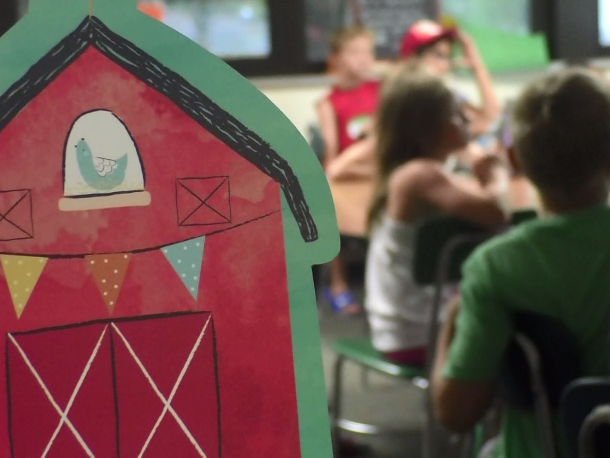 Local kids get creative at Camp Invention