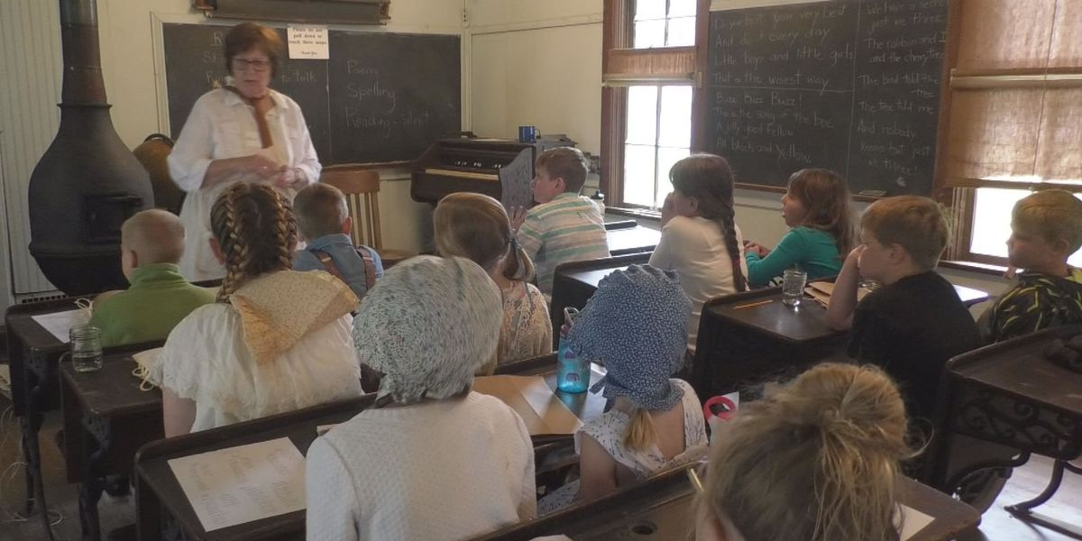 Brown Co. Historical Society Takes Local Kids to the 1860s