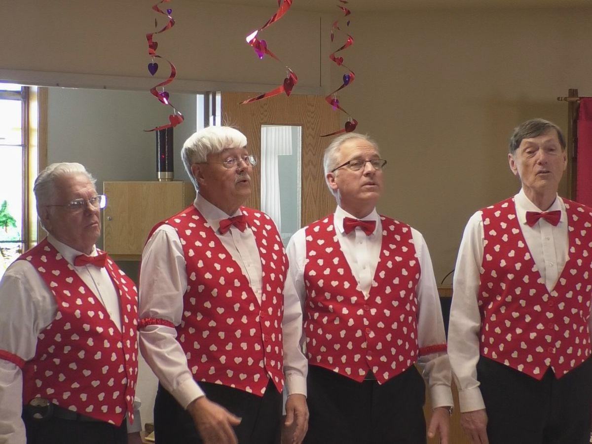 Magic Quartet spreads Valentine's Day cheer