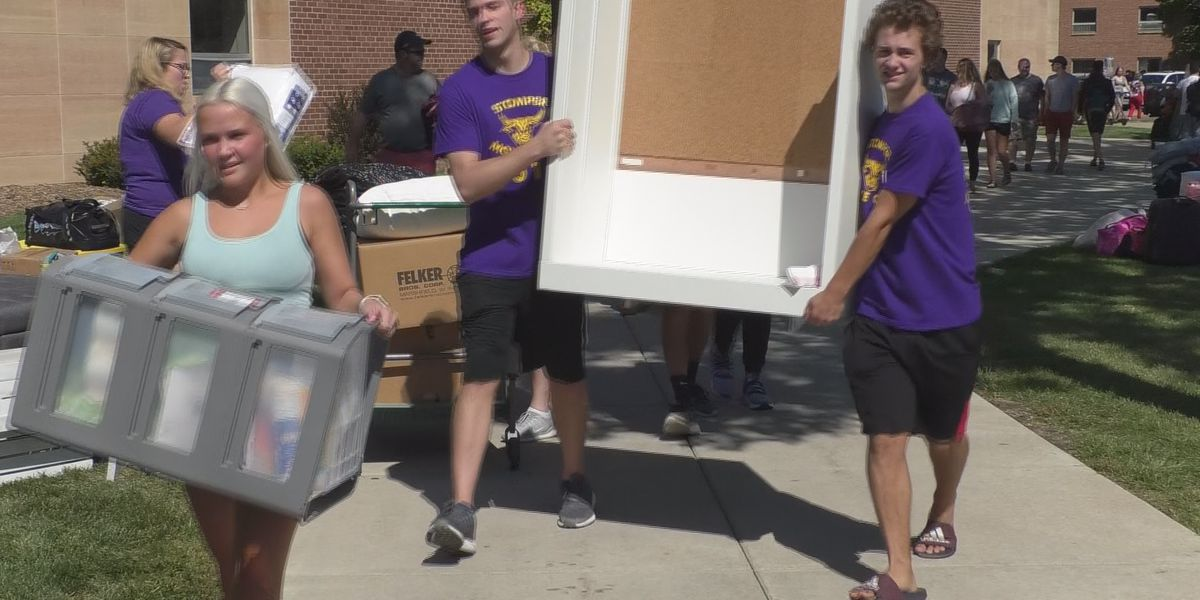 Minnesota State University students move back to town