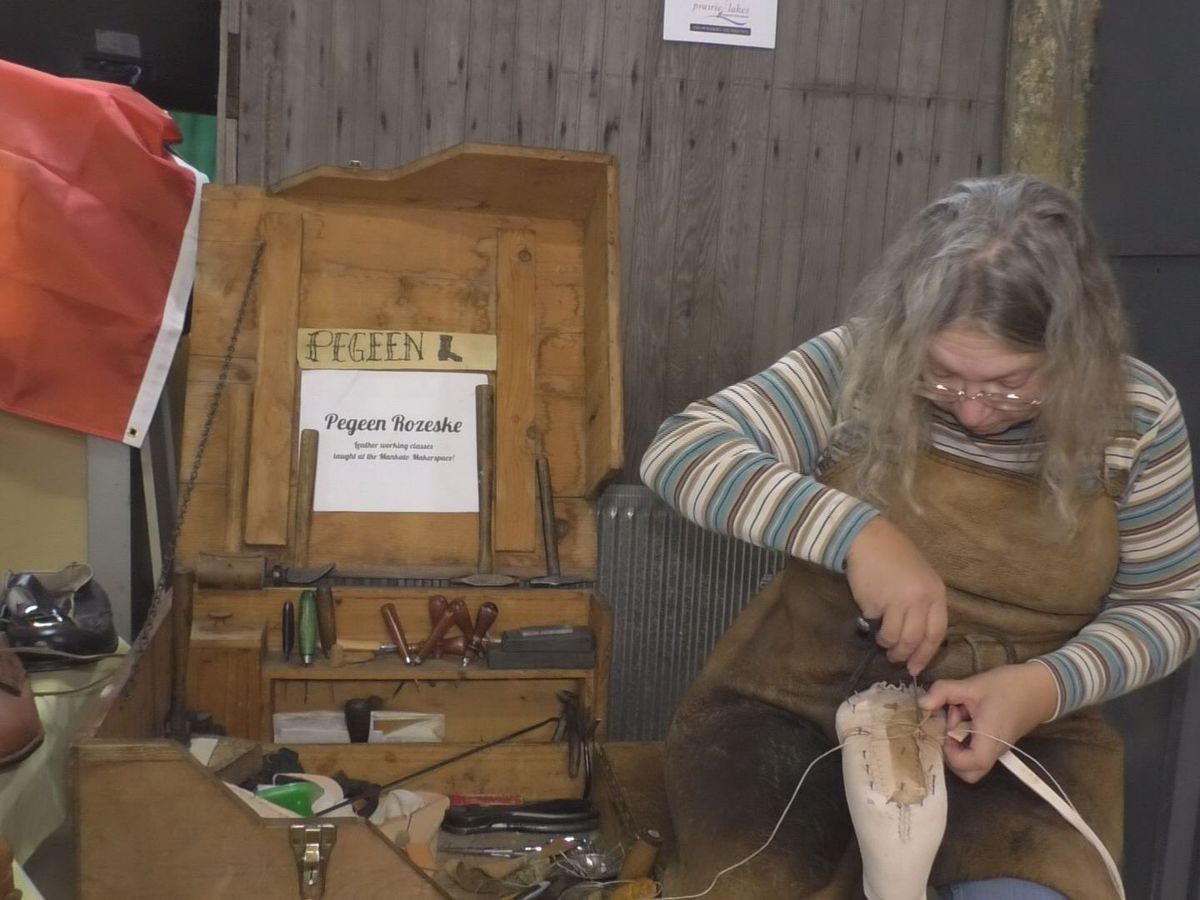 Southern Minnesota shoemaker hopes to inspire others to follow in her footsteps